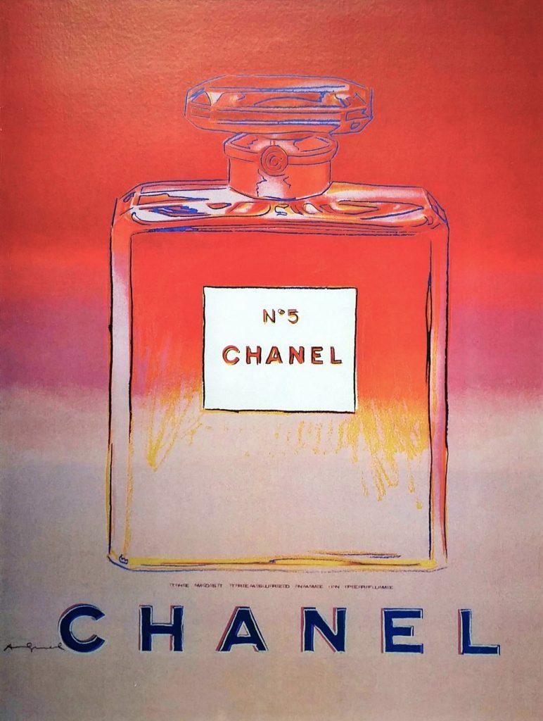 CHANEL-No.5①」オフセットリトグラフ71.2×49.8cm.jpg