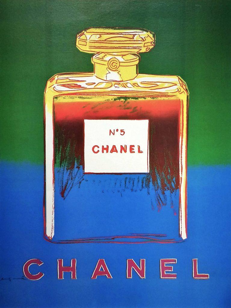CHANEL-No.5③」オフセットリトグラフ71.2×49.8cm.jpg