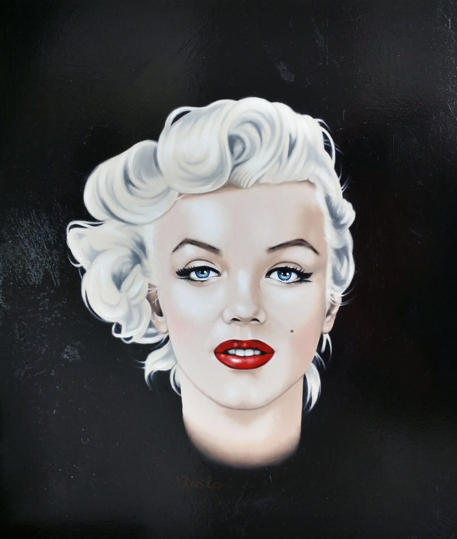 Marilyn-Monroe」油彩10号2002-121.jpg