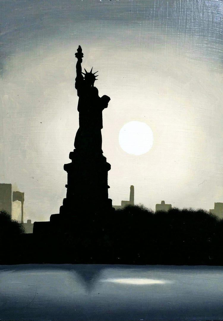 New-York」油彩SM1905-14.jpg