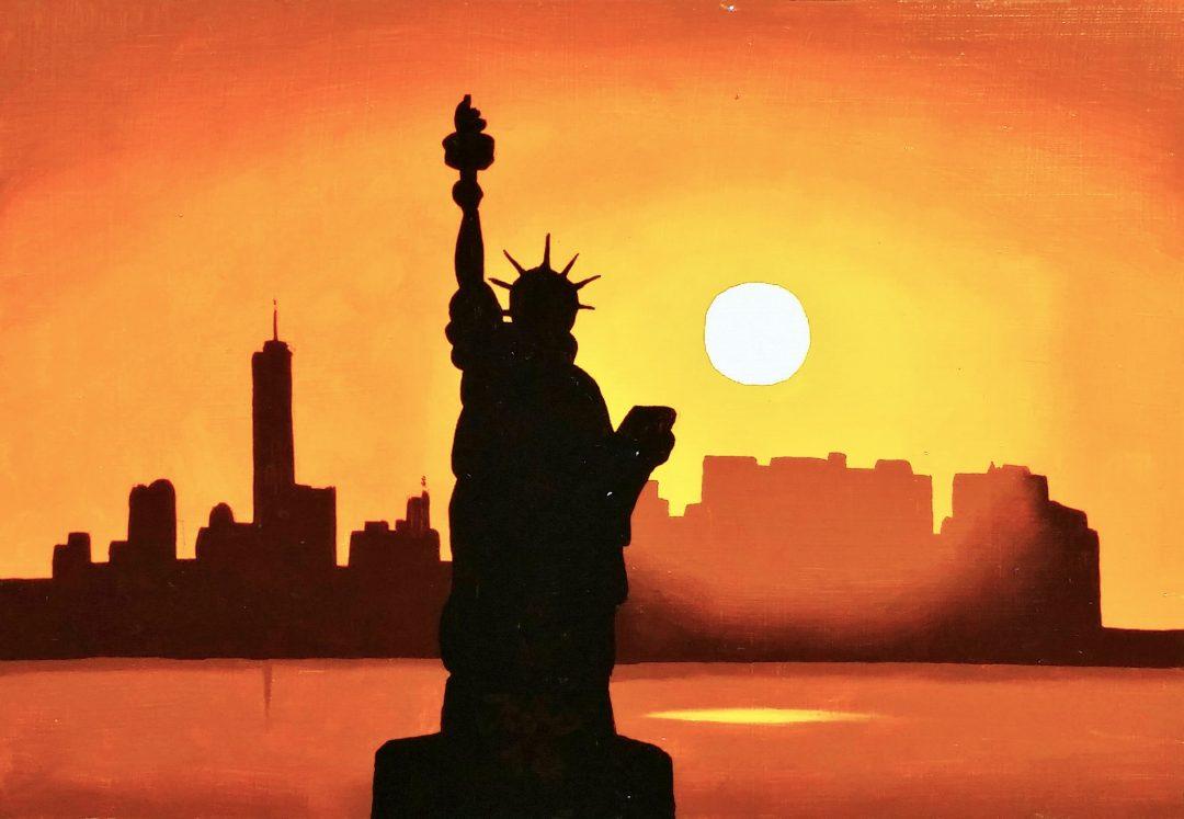 New-York」油彩SM1905-16.jpg