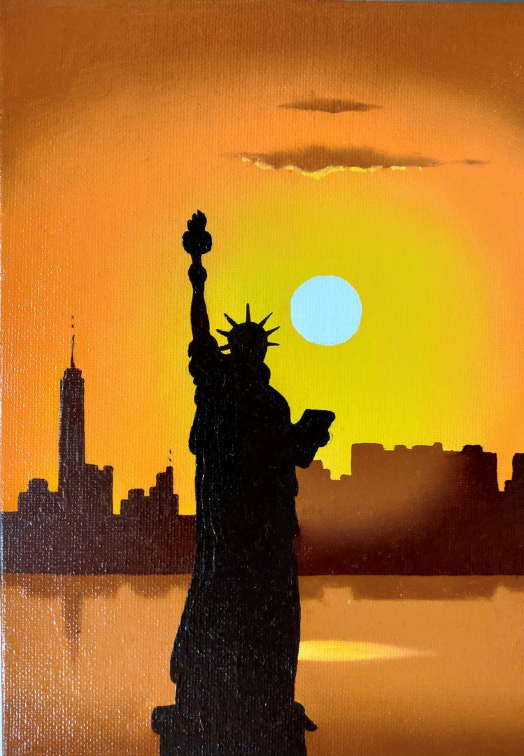 New-York」油彩SM1907-16.jpg