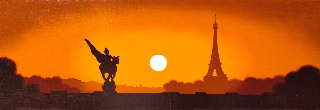 Paris-II」油彩WSM2101-07.jpg