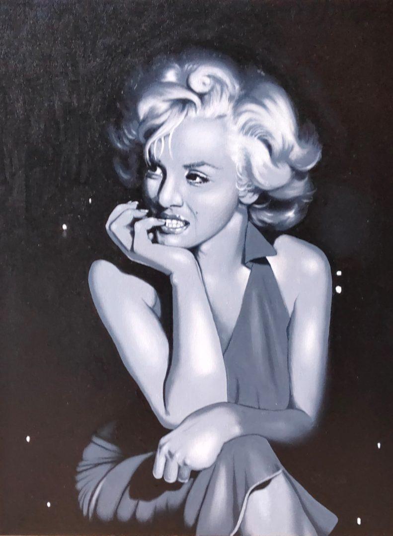 Portrait-Marylin-Monroe」油彩6号2101-04.jpg