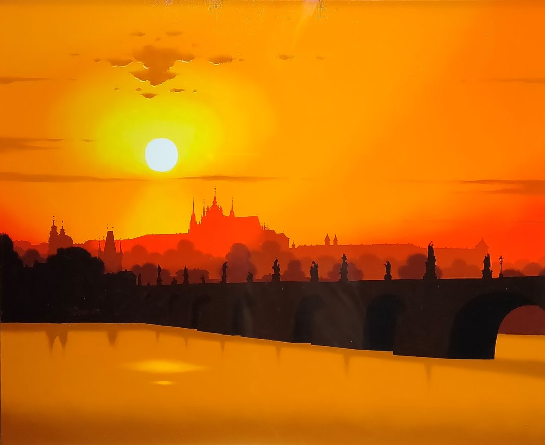 Prague」油彩20号1907-081.jpg