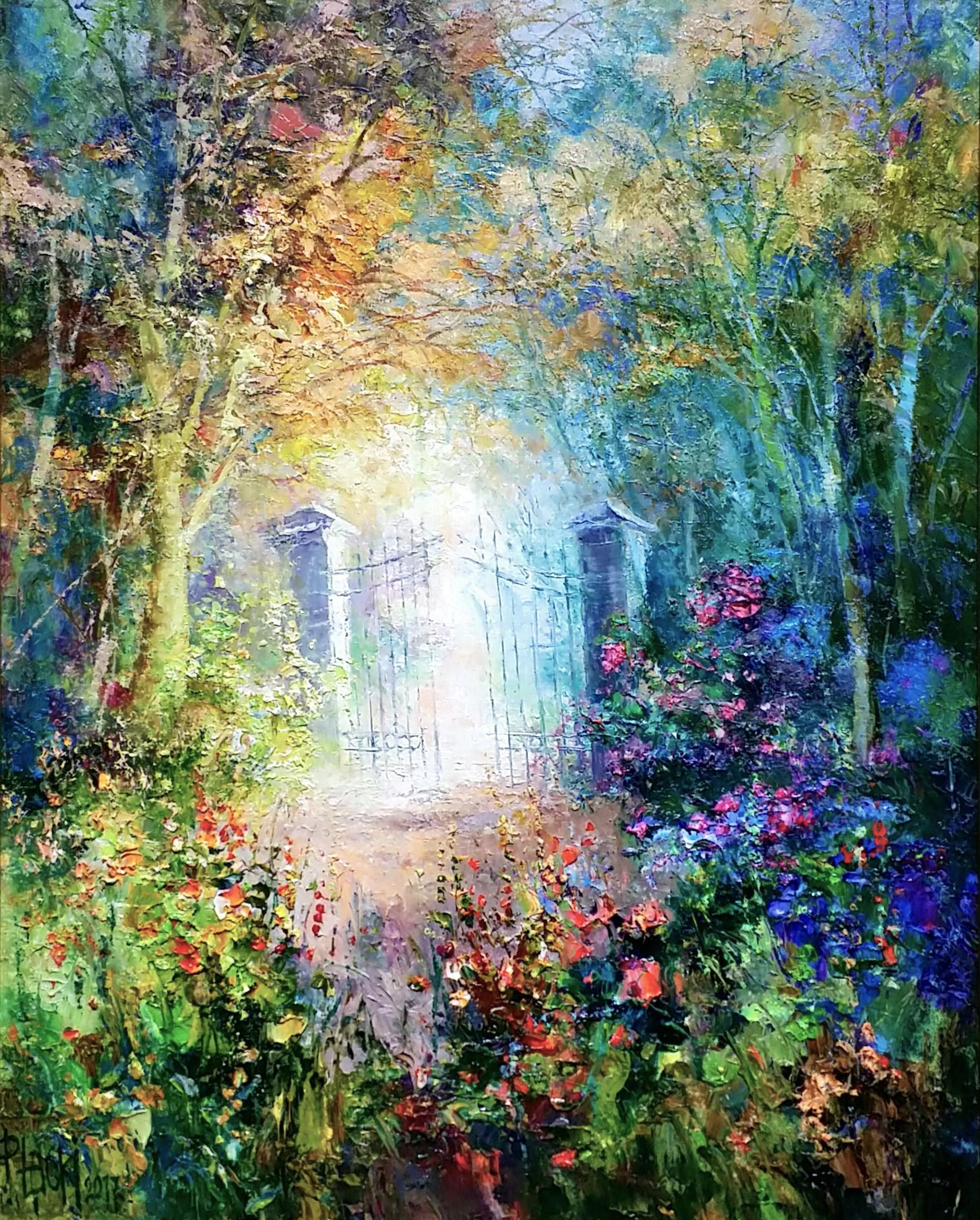 Gate-to-garden-Ⅱ」油彩12号.jpg