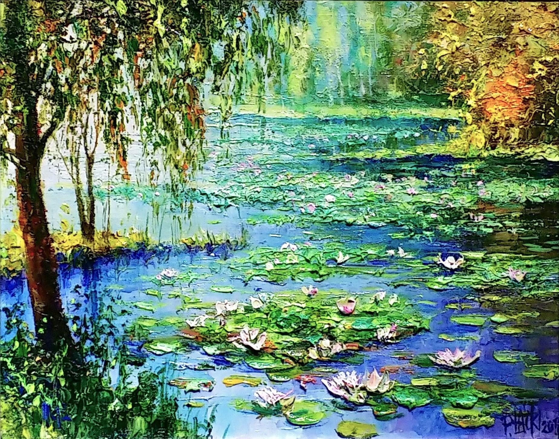 Lilies-of-Mazury」油彩3号1808-101.jpg