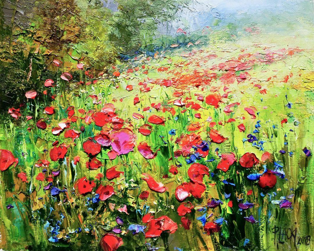 Poppies」油彩3号1905-03.jpg