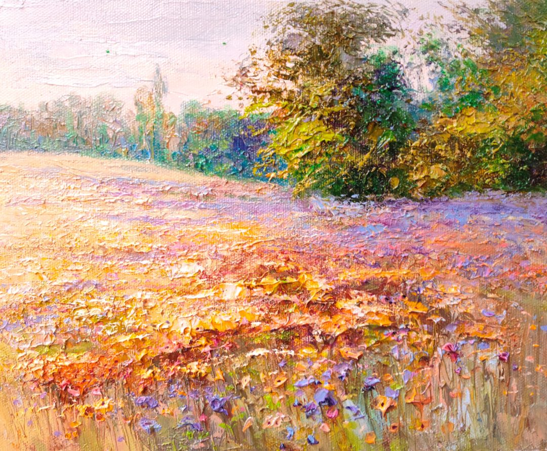 Summer-meadow」油彩3号2101-301.jpg
