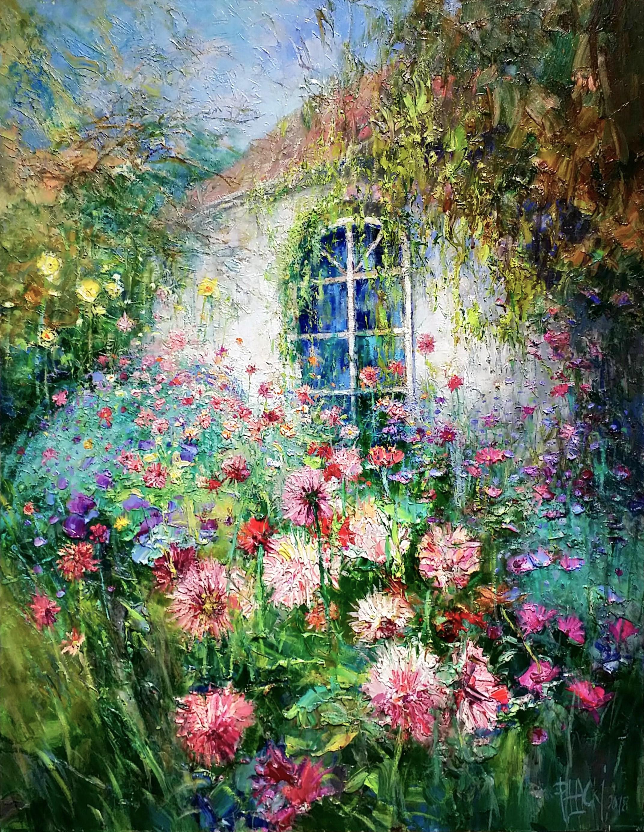 View-from-window」油彩81×65cm1808-19.jpg