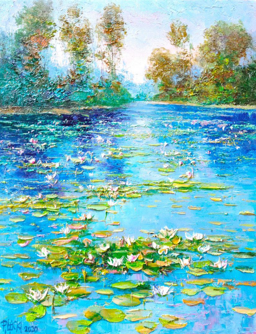 Water-lily-VI」油彩6号2101-371.jpg