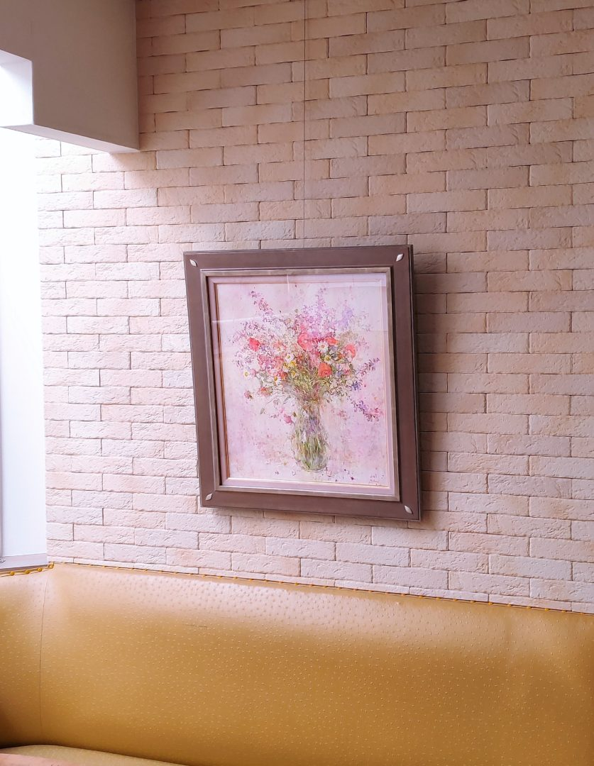 Flower-with-poppy」油彩10号1905-2710.jpg