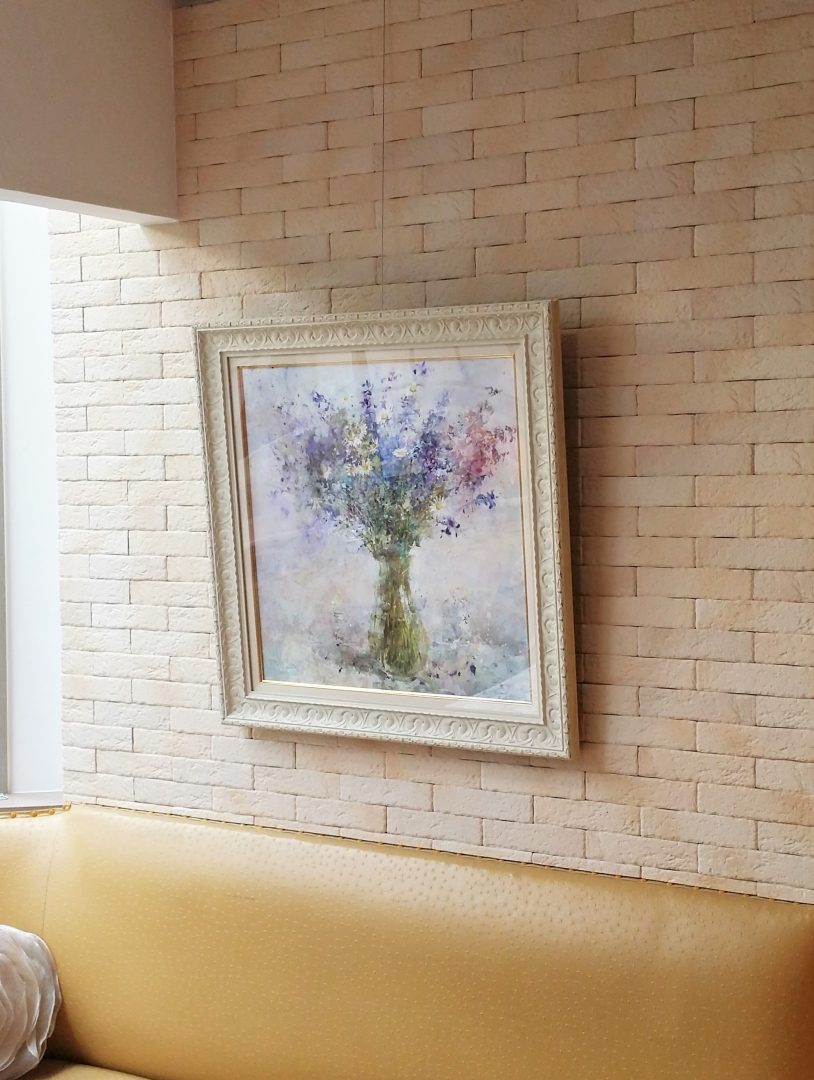 Margaret-flower」油彩12号1810-2410.jpg