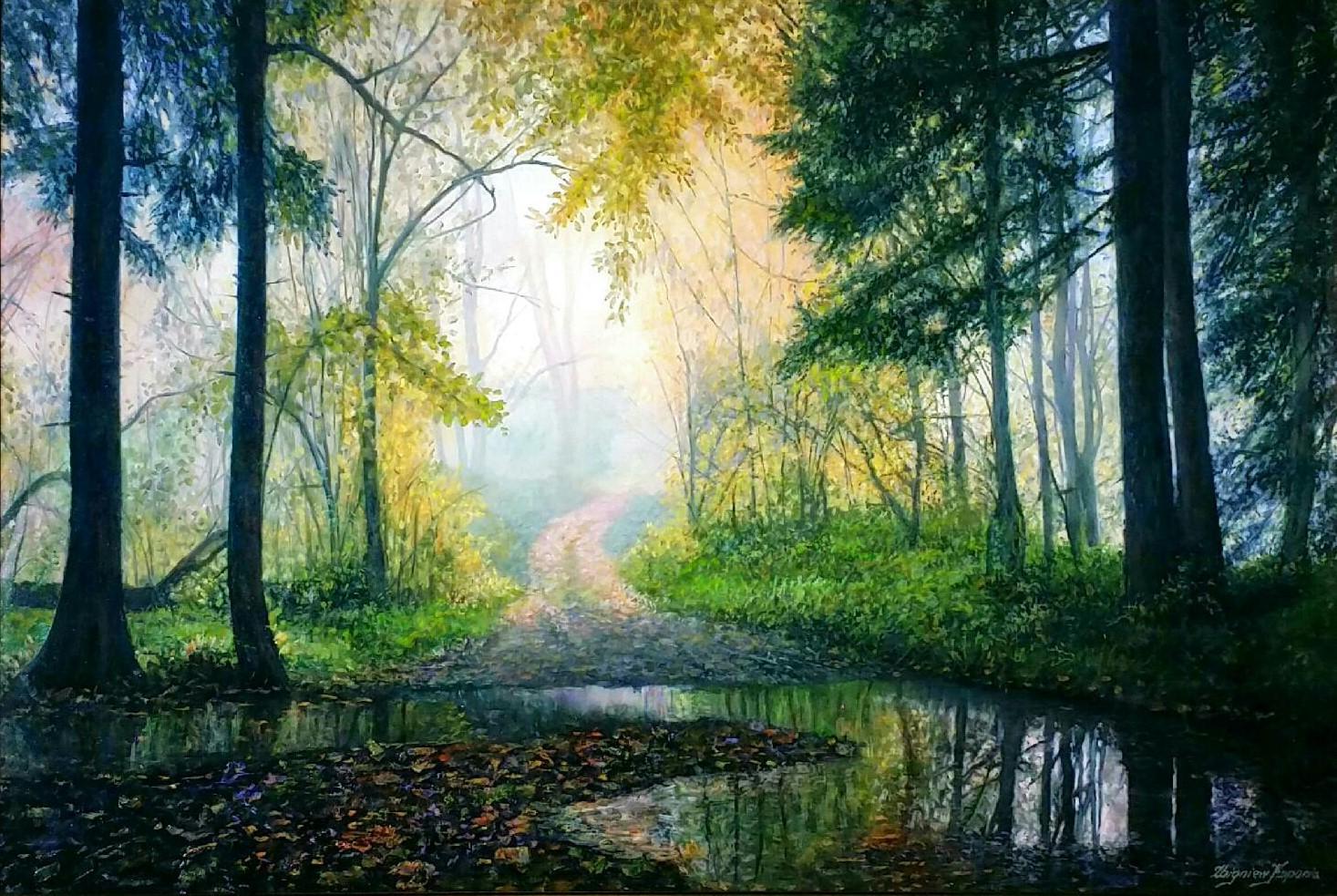 Autumn-forest-mood」油彩60×90cm.jpg