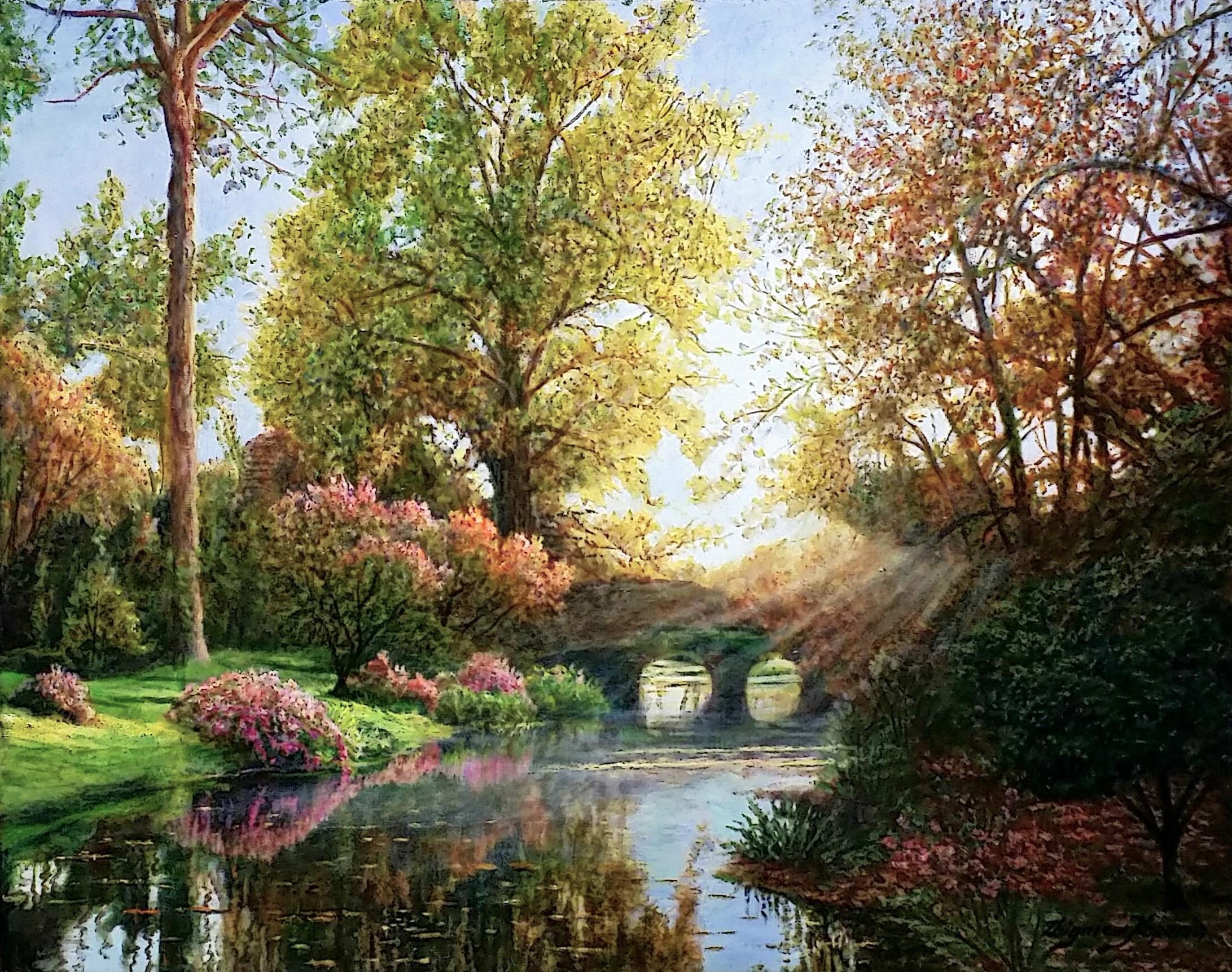 Romantic-sunset」油彩40×50cm.jpg