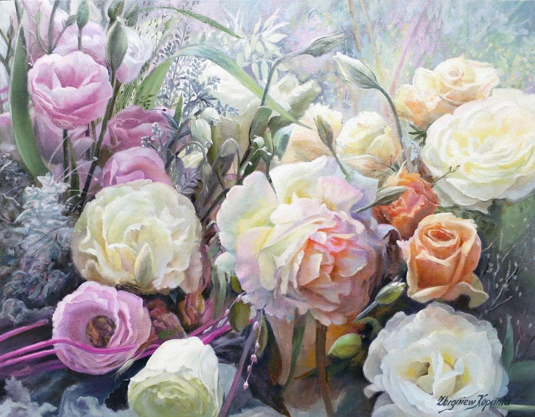 Roses-in-garden」油彩6号2009-33.jpg