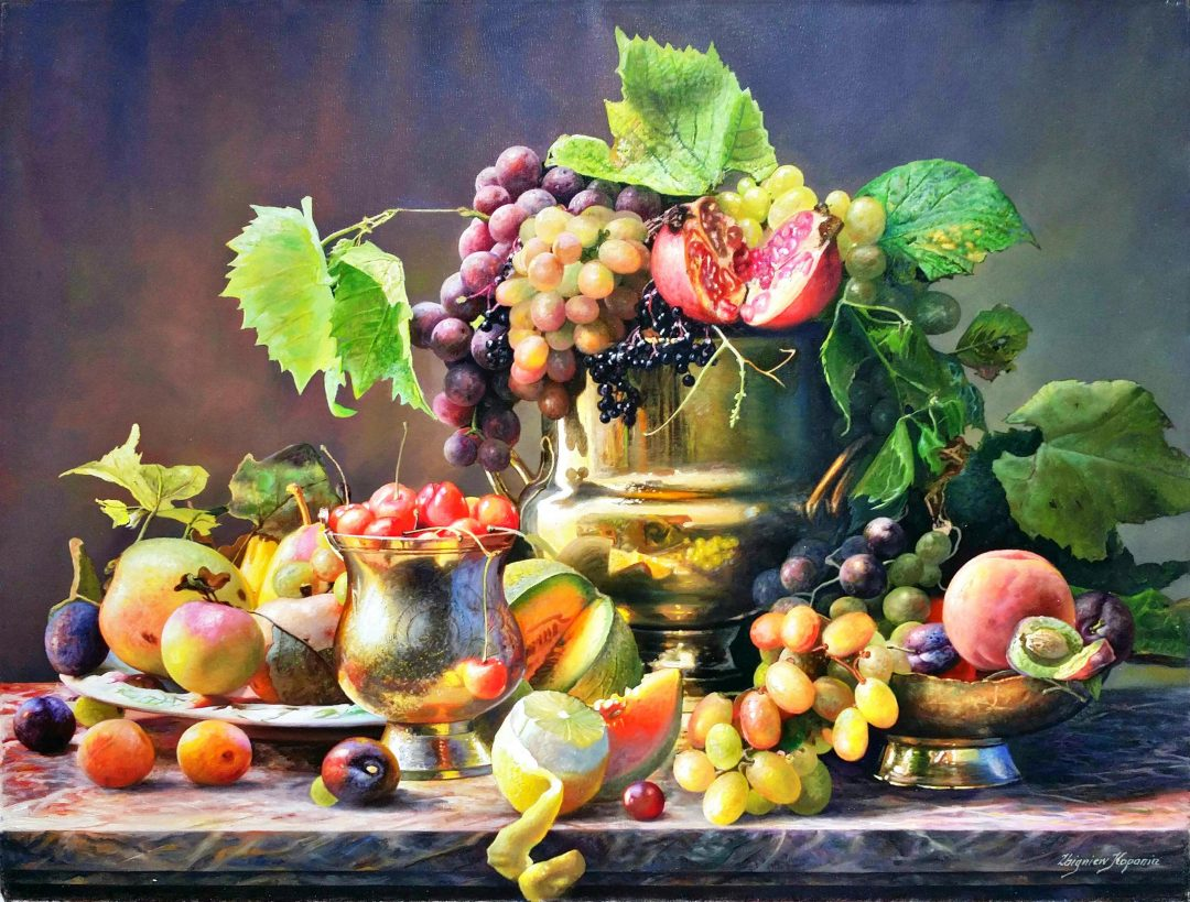 Still-life-with-grapes」油彩25号1905-30.jpg