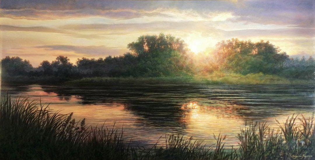 Sunset」60×120cm1704-291.jpg