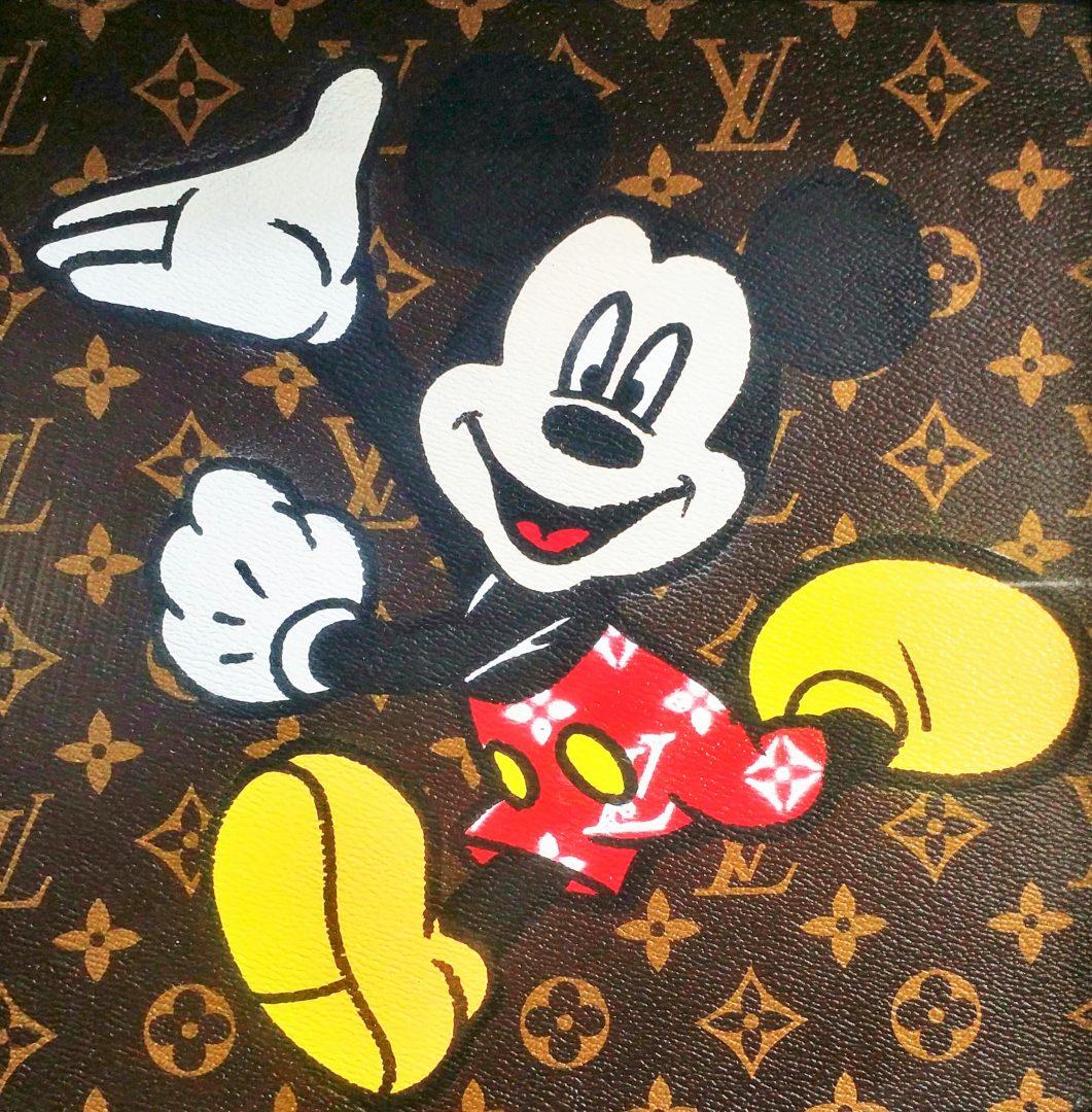 Mickey-Vuitton」アクリル3号.jpg