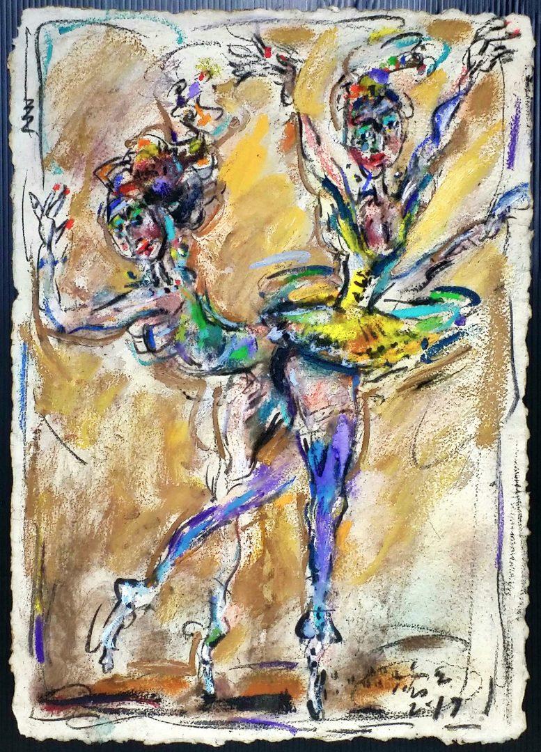 Ballet」パステル61×44cm1909-19.jpg