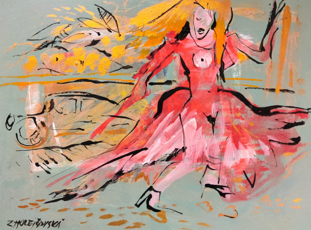 Red-dress」油彩・アクリル6号2101-18.jpg