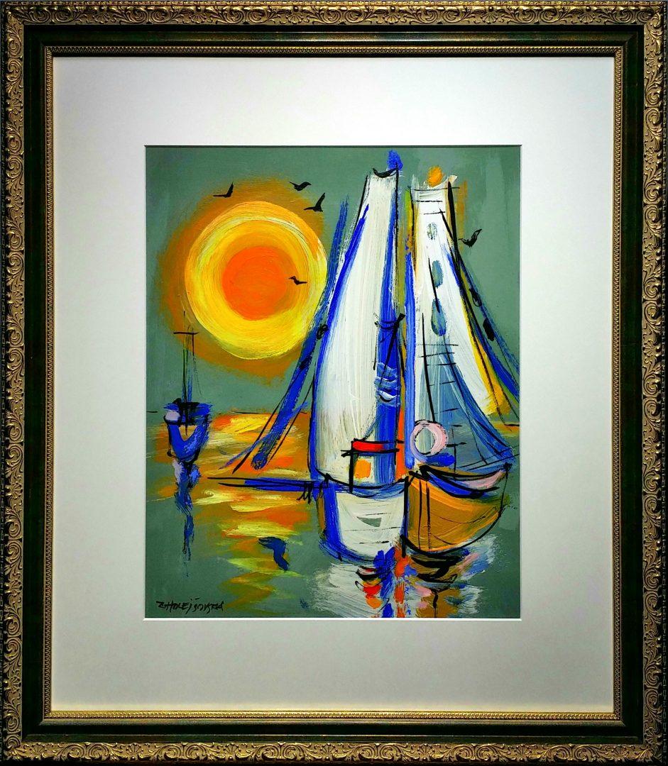 Sun-and-Yachts」ミクスドメディア10号1907-222.jpg