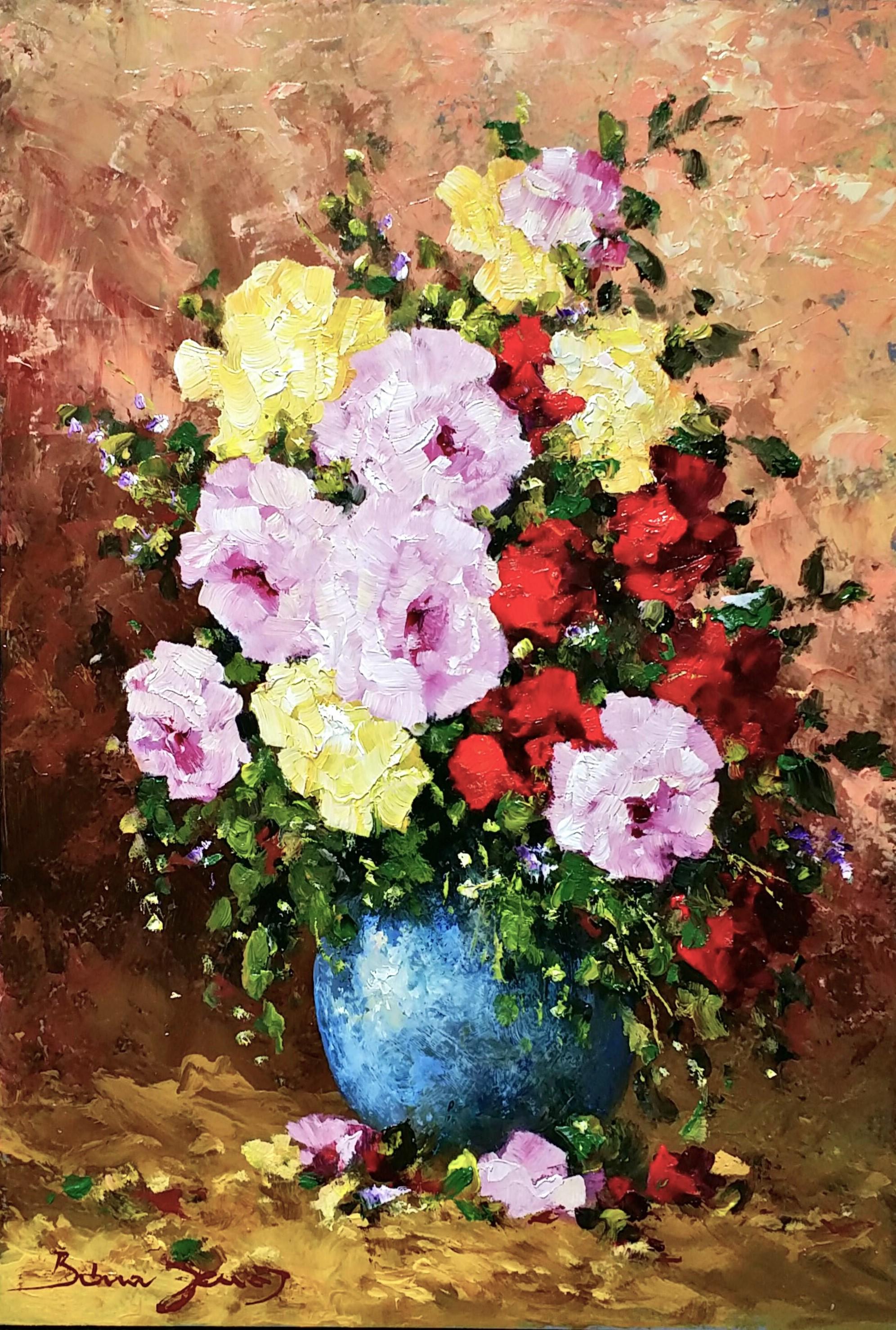 J「Roses」油彩4号1810-06.jpg
