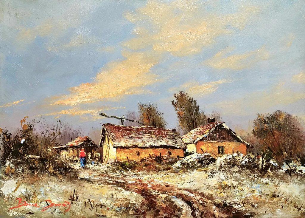 J「Winter-farm」油彩4号1810-10.jpg