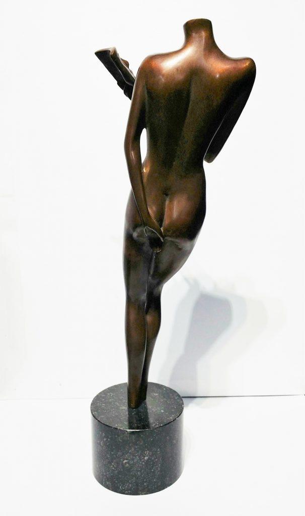 Narcisse」ブロンズ44×14×10cm2.jpg