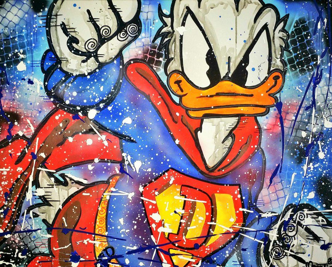 SuperDuck」アクリル40号.jpg