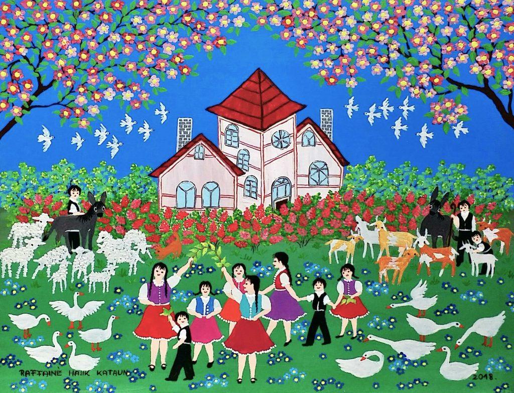 Pinky-cottage」油彩6号1808-42.jpg