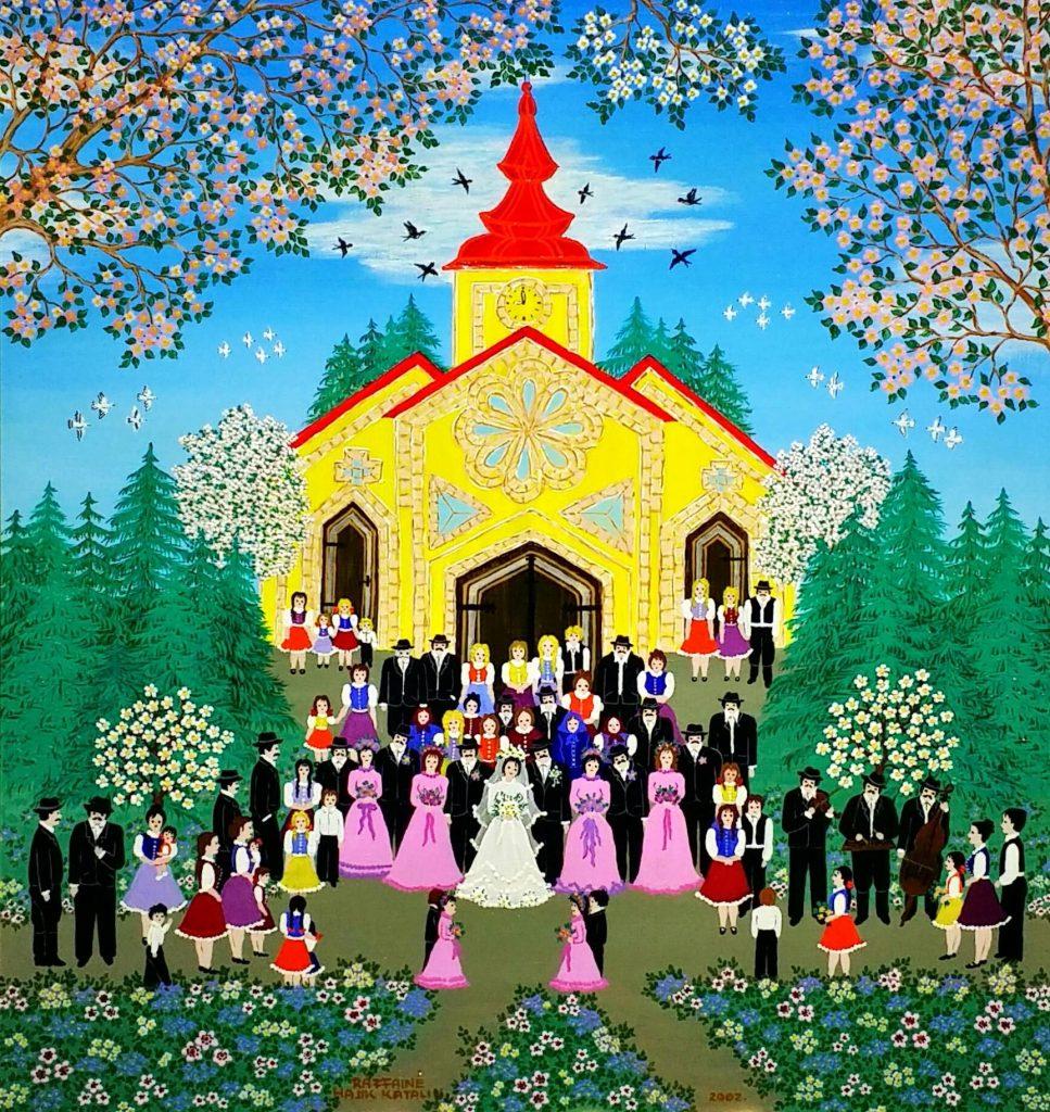 Spring-wedding」油彩・アクリル53×49.5cm.jpg