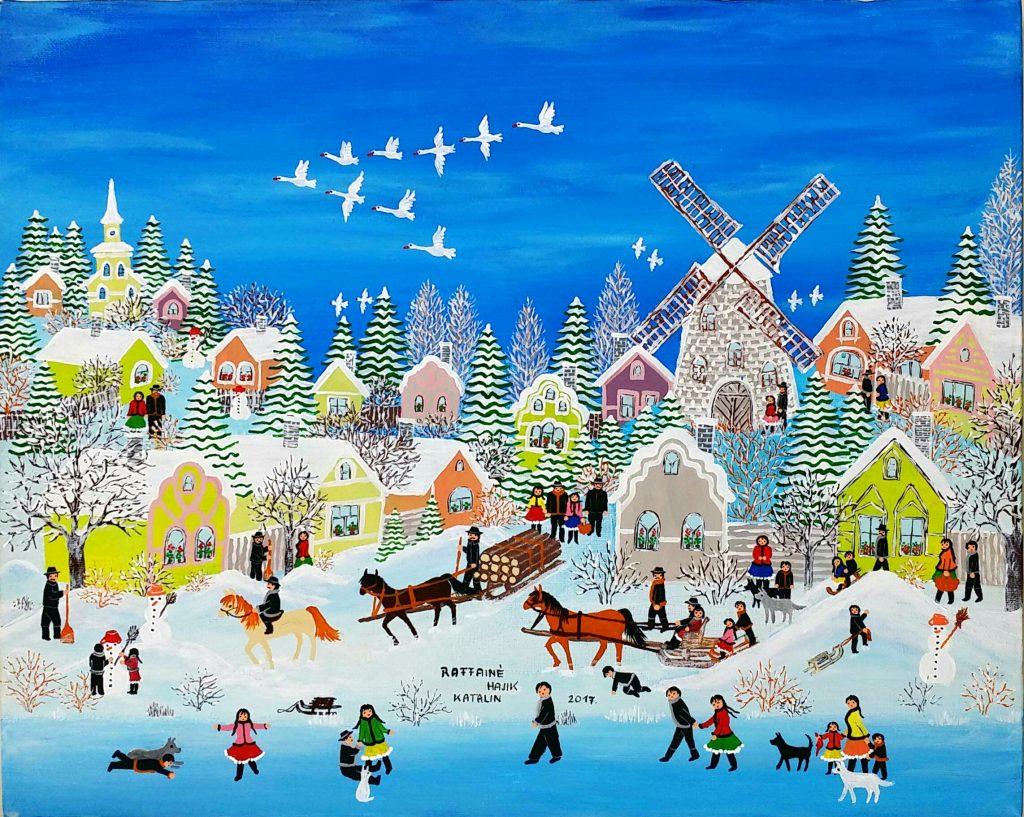 Winter」アクリル油彩40x50cm.jpg