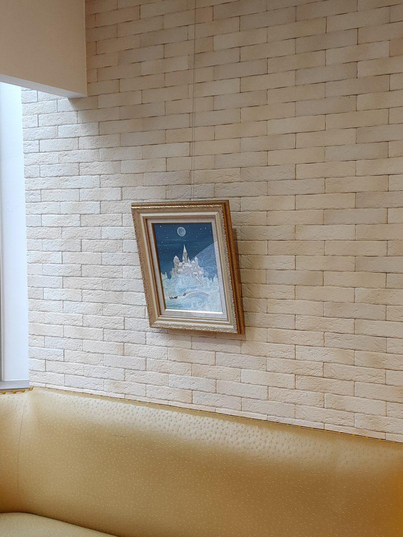 Winter-castle」油彩・アクリル4号1905-20-1.jpg