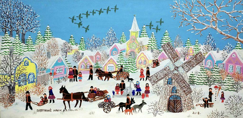 Winter-is-here」油彩25×50cm1808-41.jpg