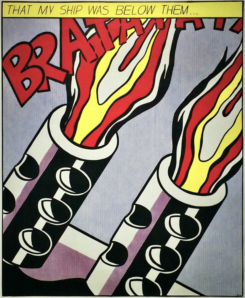 As-I-Opened-Fire-Poster-B」オフセットリトグラフ61×49.7cm2.jpg