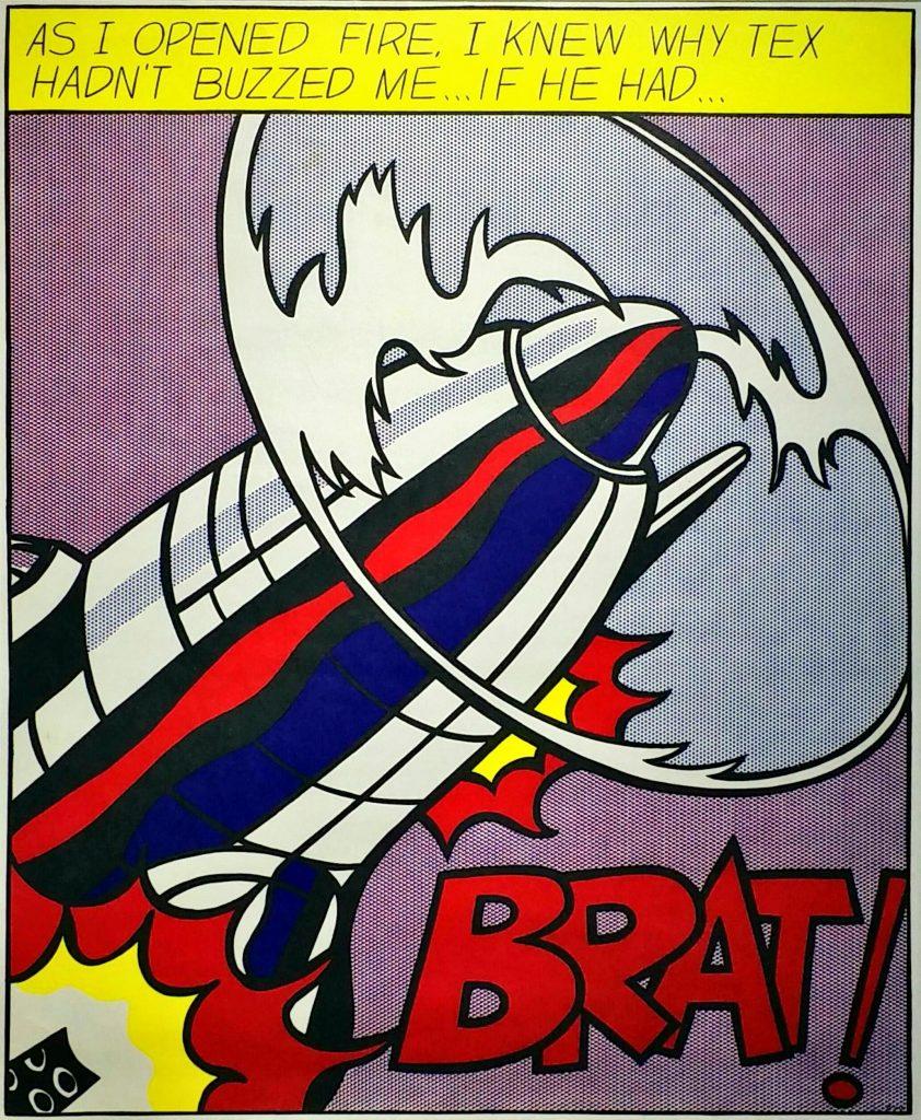 As-I-Opened-Fire-Poster-C」オフセットリトグラフ61×49.7cm1.jpg