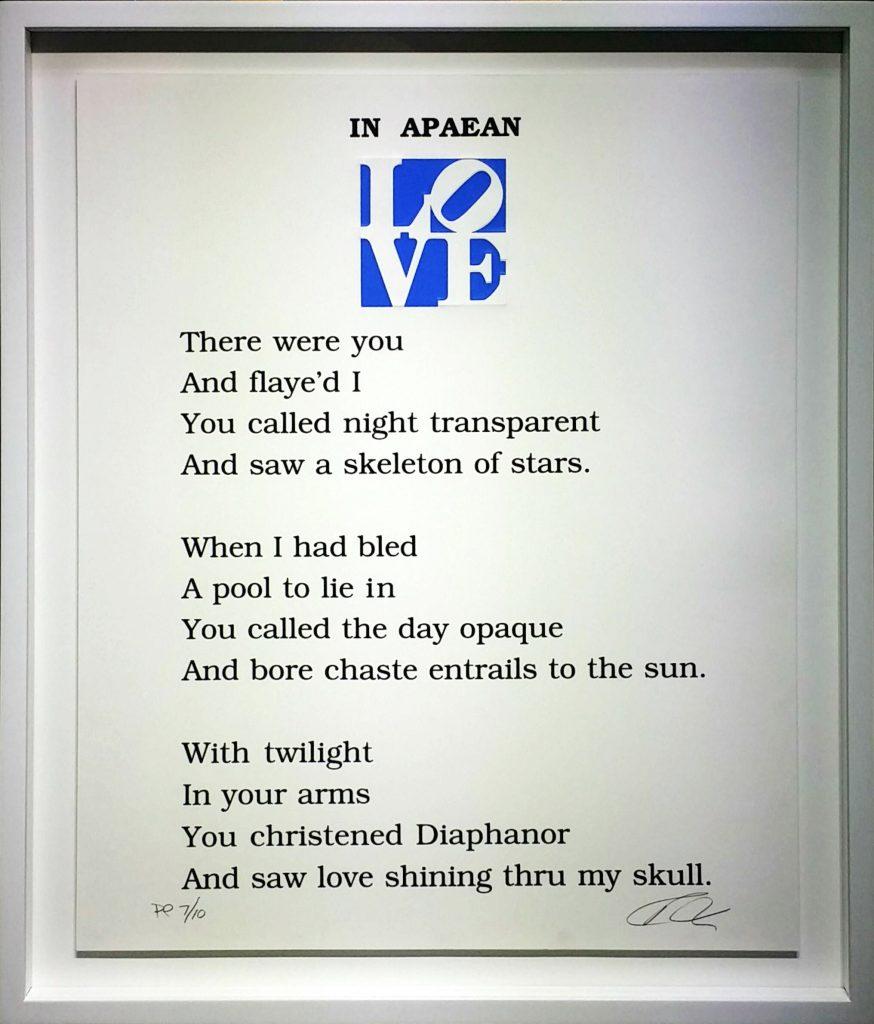 The-Book-of-Love-Poem③」シルクスクリーン61×50.8cm2.jpg