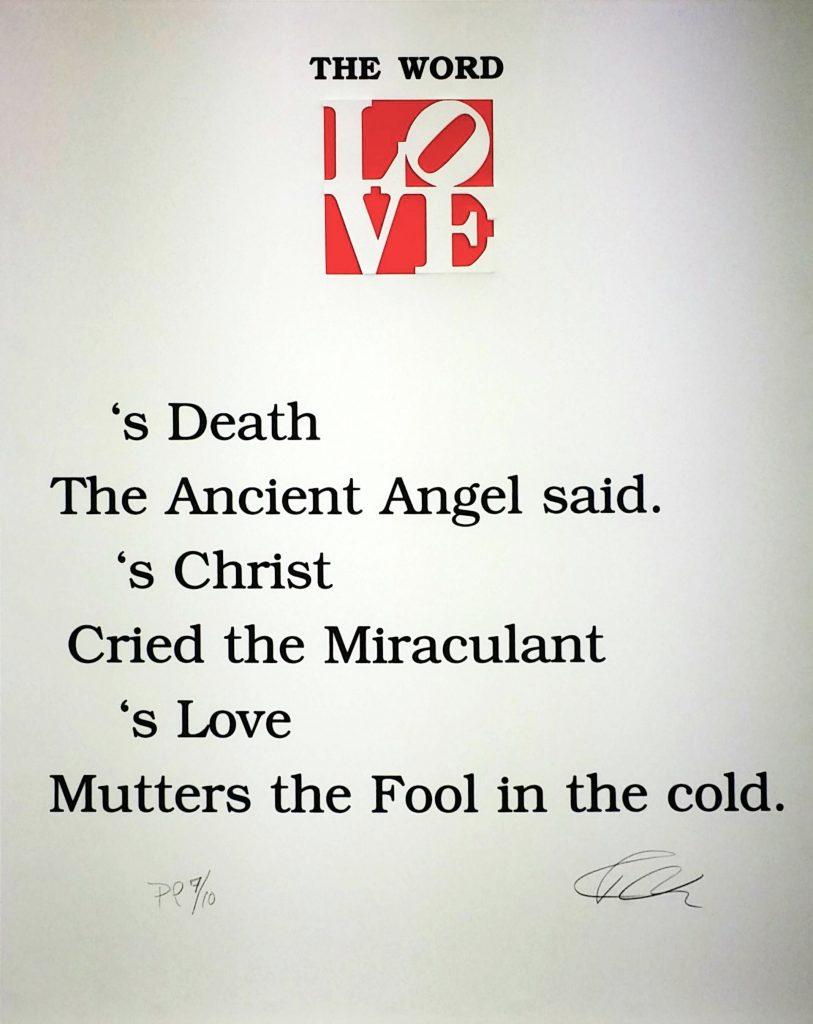 The-Book-of-Love-Poem④」シルクスクリーン61×50.8cm1.jpg
