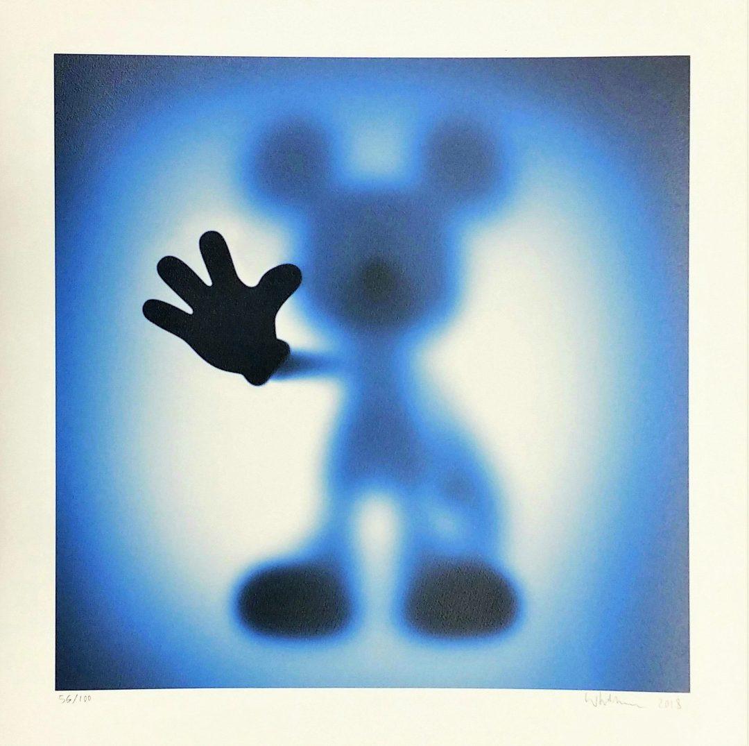 Gone-Mickey-Blue」ジークレー60×60cm.jpg