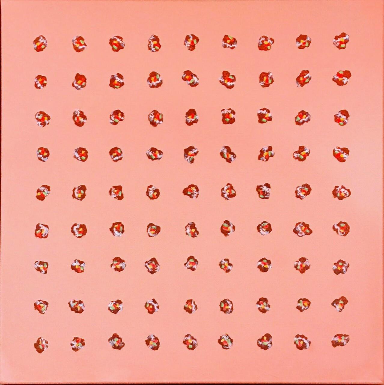 82人でブルーフォレスト」アクリル45.5×45.5cm1.jpg