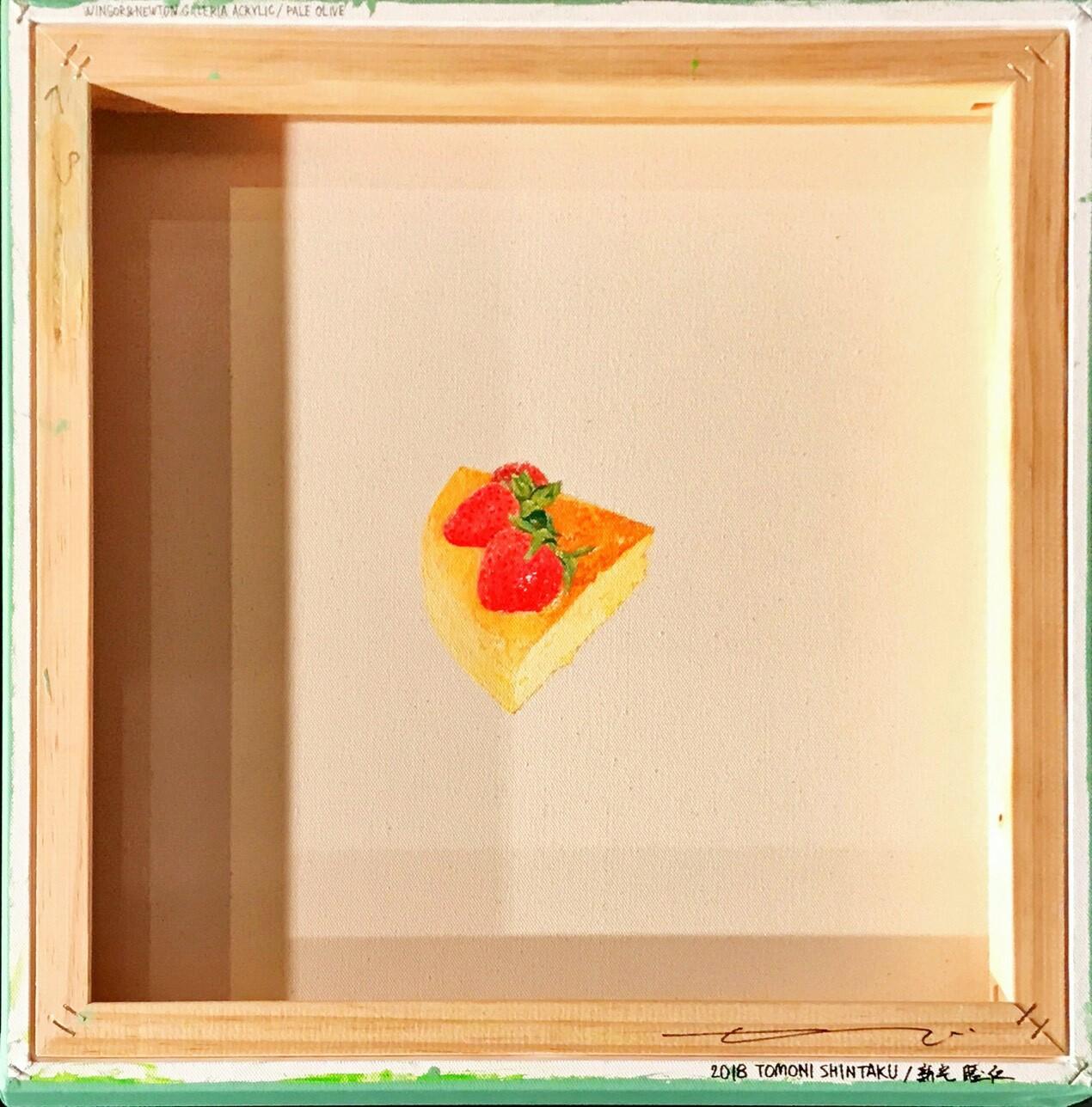 82人でライトチーズケーキ」アクリル45.5×45.5cm2.jpg