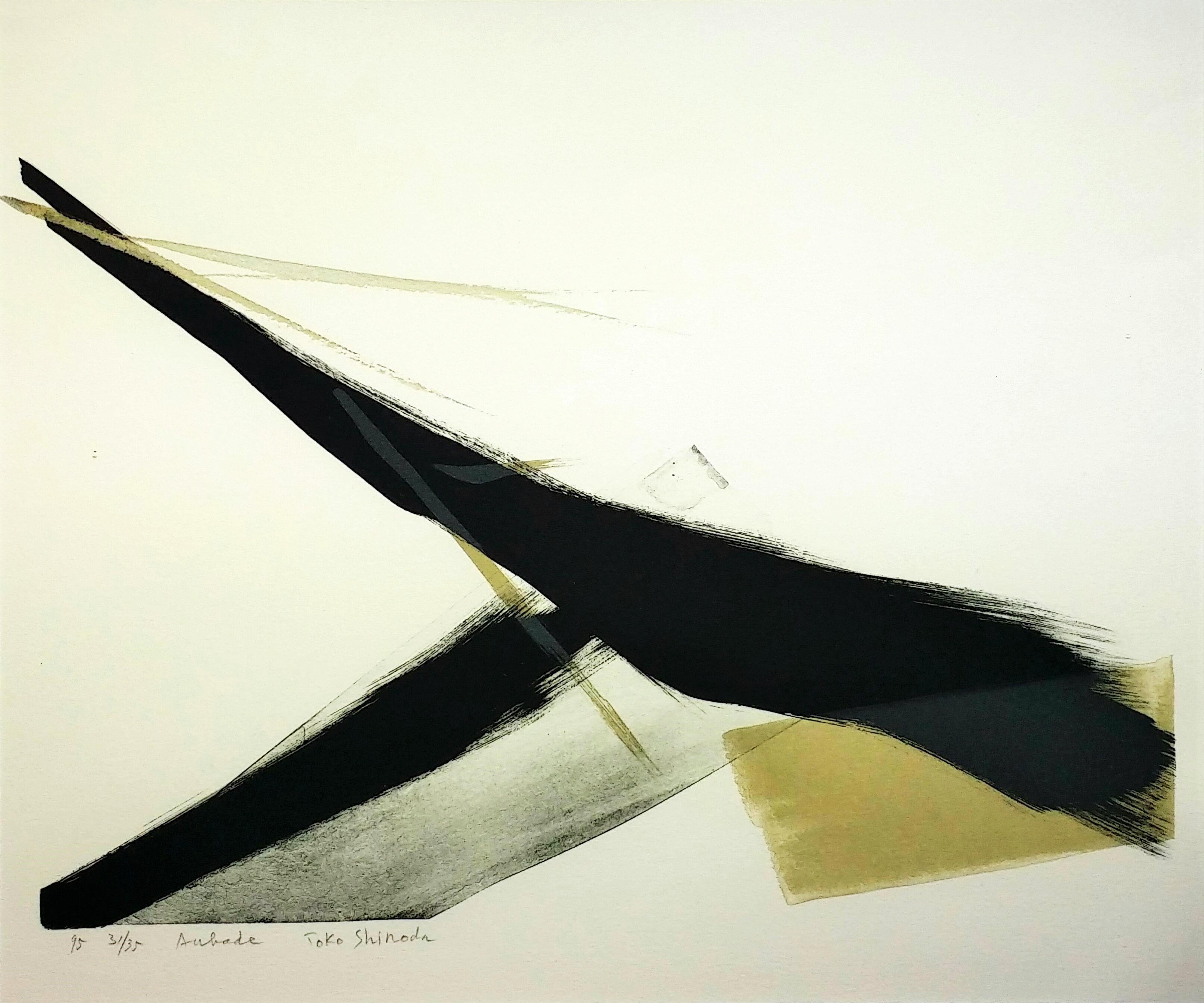 Aubade」手彩色リトグラフ44.2×52.8cm1.jpg