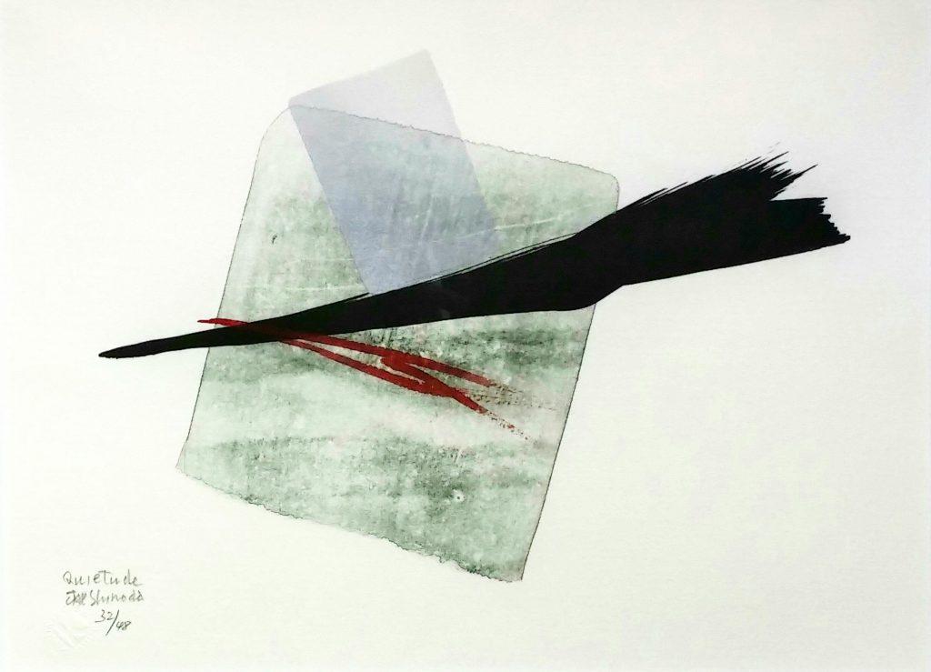 Quietude」リトグラフ手彩色26.9×36.8cm1.jpg