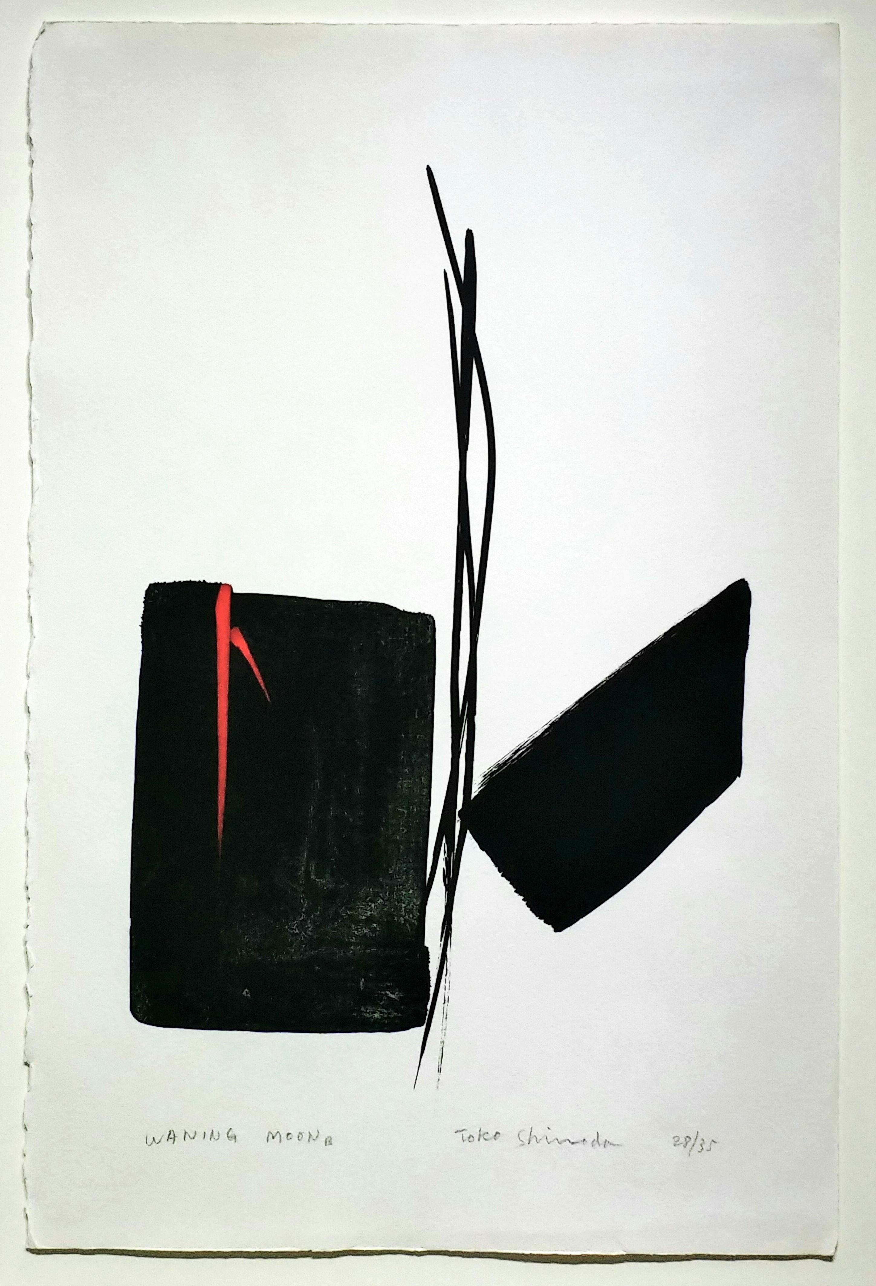 WANING-MOON」手彩色リトグラフ50.4×32.5cm1.jpg