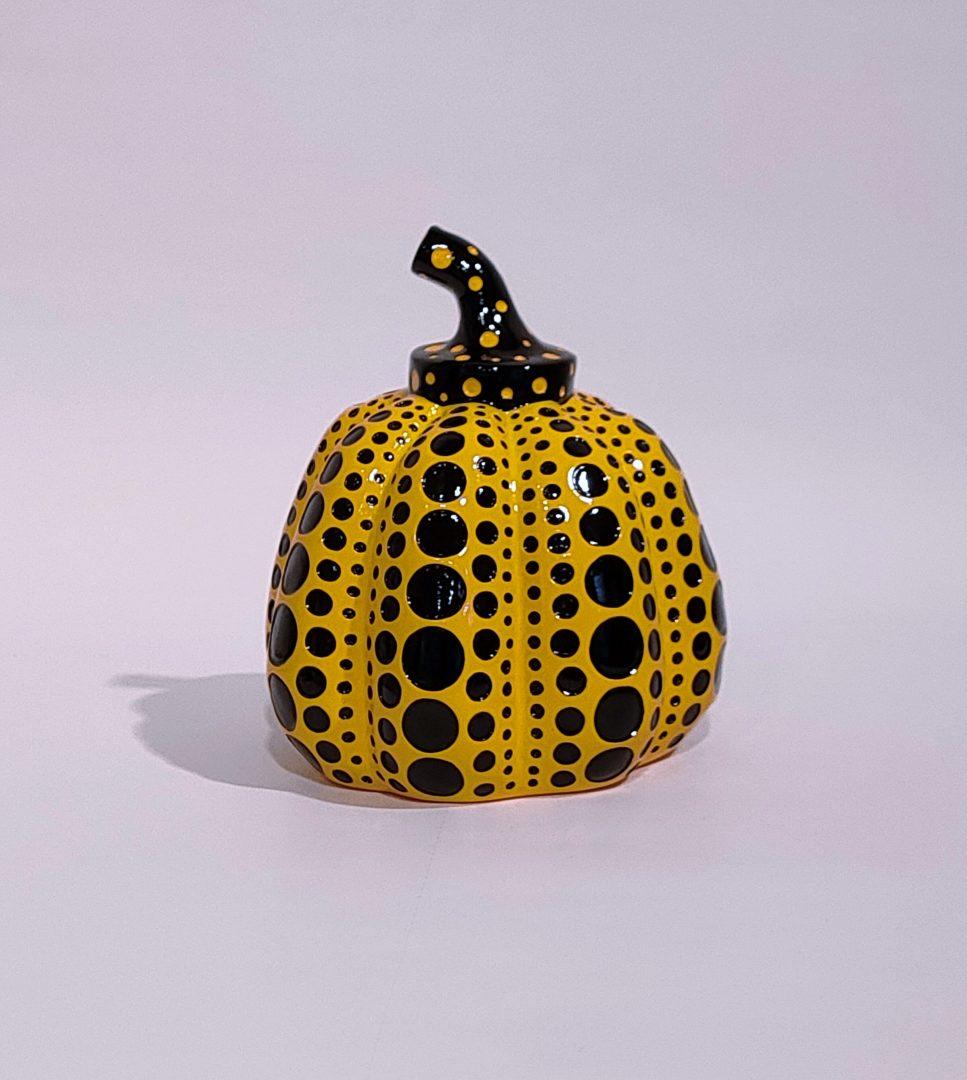 Yellow-Pumpkin」ポリストーン10×8.5cm直島限定2.jpg