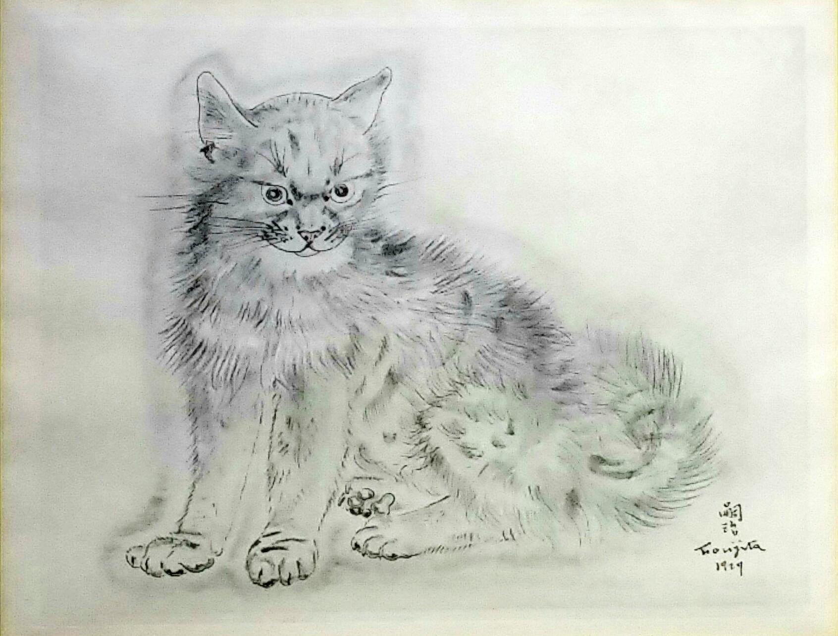 -猫の本-」コロタイプ19×25」cm1930年.jpg