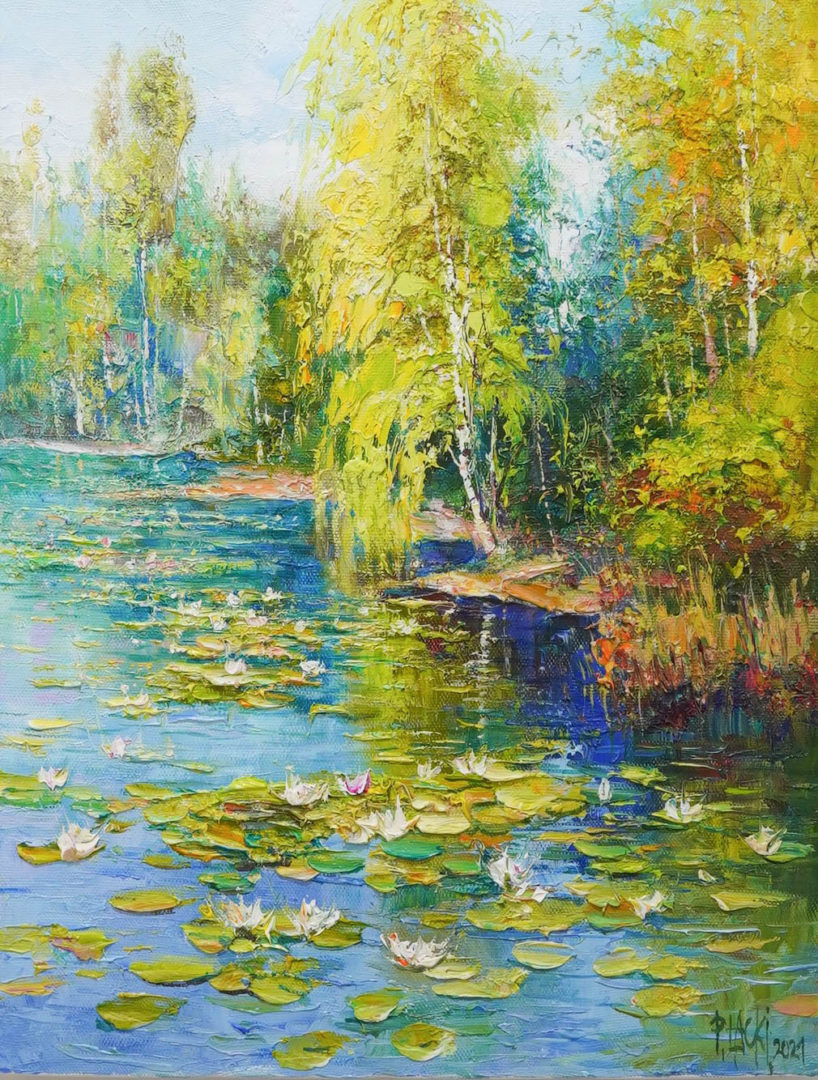 2107-19_Water-lily-and-birches.jpg