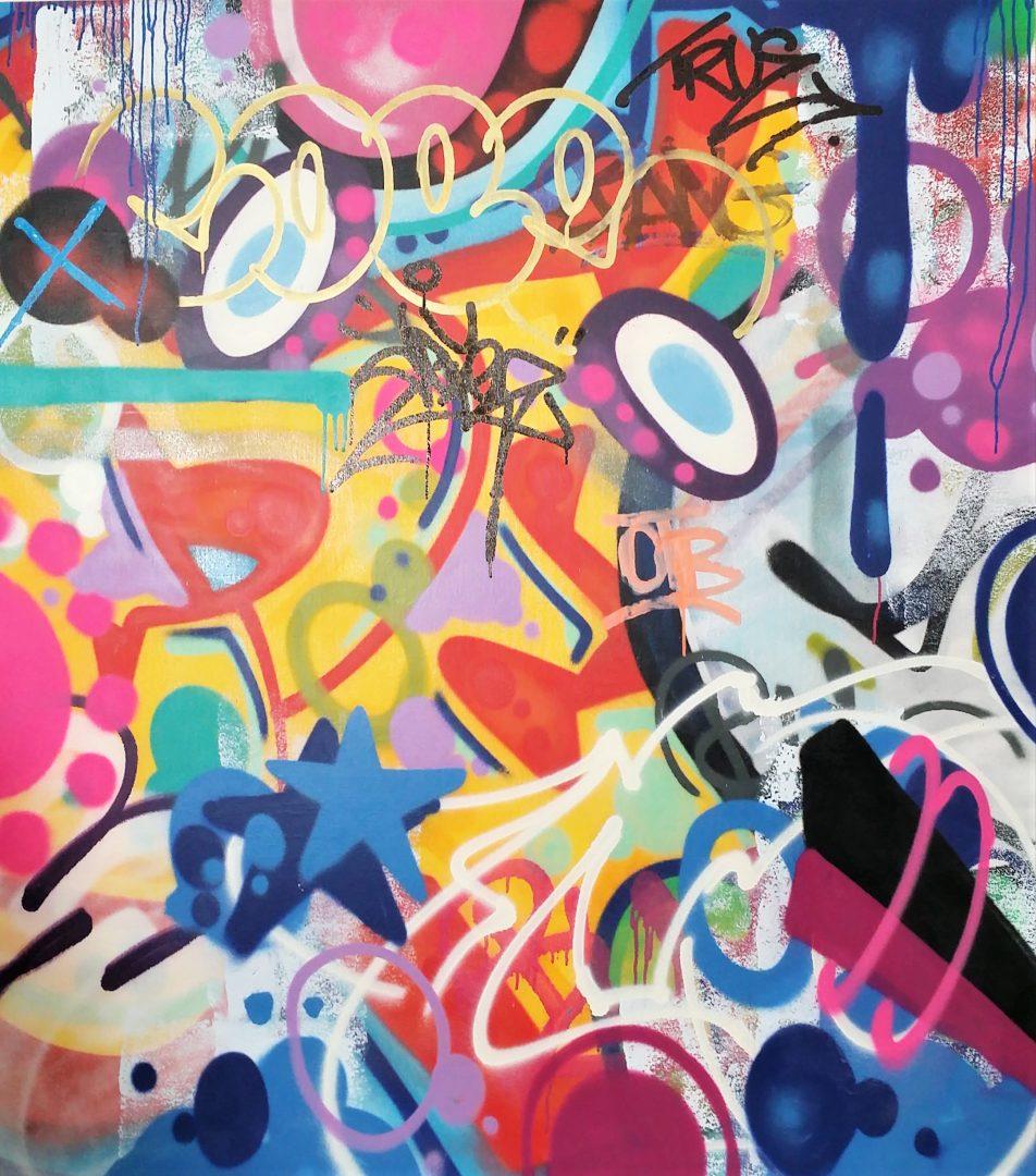 COPE2「Untitled」キャンバスにアクリルステンシル138×122cm1.jpg