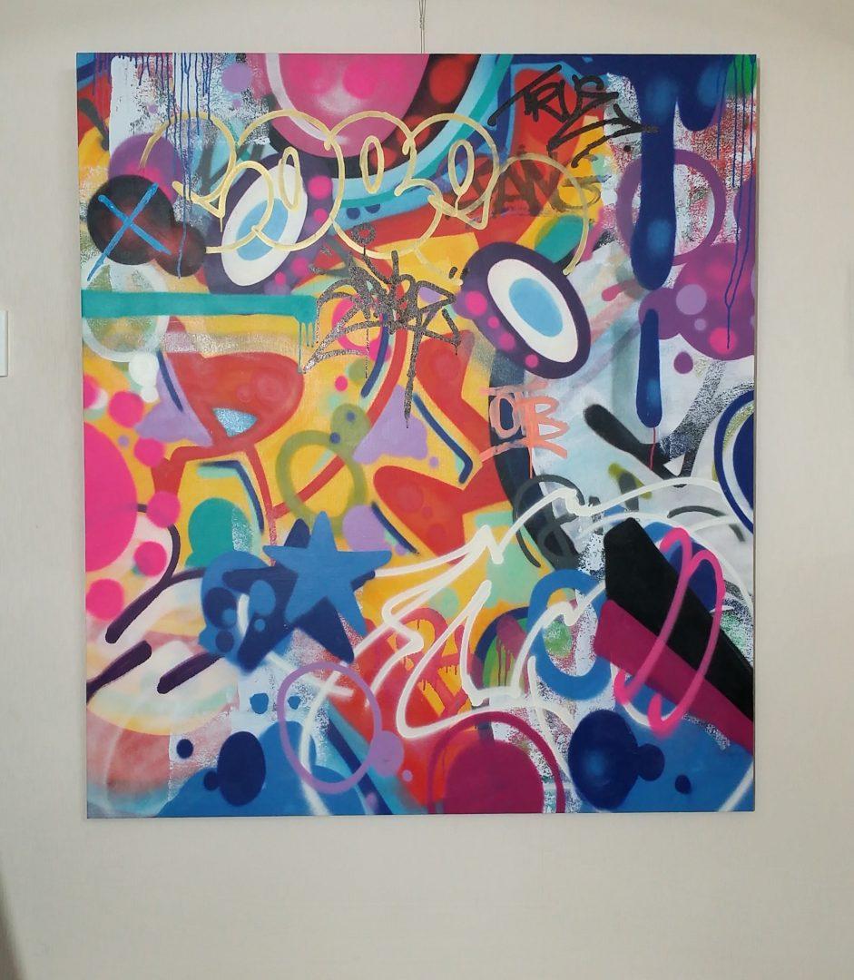 COPE2「Untitled」キャンバスにアクリルステンシル138×122cm2.jpg